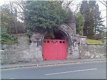 NS3975 : Old gate on West Bridgend by Stephen Sweeney
