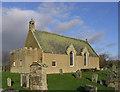 NT7027 : Eckford Parish Church by Walter Baxter