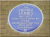 SU4212 : Henry James Plaque by Colin Smith