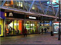 SU1484 : McDonald's restaurant, Brunel Centre, Swindon by Brian Robert Marshall