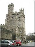 SH4762 : Twr yr Eryr - Eagle's Tower, Caernarfon Castle by Eric Jones