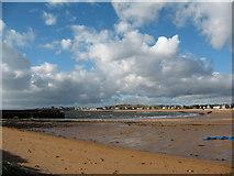 NT4999 : Harbour Beach, Elie. by Gordon Hatton