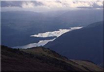 NN1332 : Loch Awe from Ben Eunaich by John Bennett