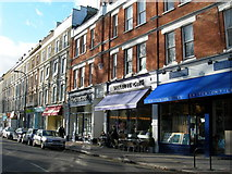 TQ2784 : Shops on Englands Lane, NW3 (1) by Danny P Robinson