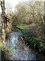 SO8898 : Smestow Brook, Compton, Wolverhampton by Roger  Kidd