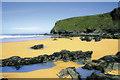 SW8466 : North Watergate at low tide by Geoff Tydeman