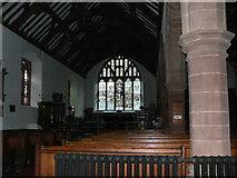 SJ1065 : St Tyrnog's Church, Llandyrnog by Eirian Evans