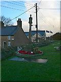 SJ1065 : War Memorial, Llandyrnog by Eirian Evans