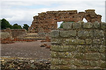 SJ5608 : Ruined Roman baths, Wroxeter by Terry Johnson