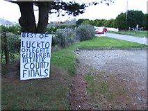 T0031 : Good luck! by Jonathan Billinger