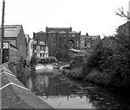 SD8913 : Rochdale Weir, River Roch by Dr Neil Clifton