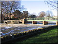 TL0549 : Weir on the Ouse at Bedford by M J Richardson