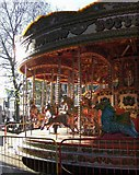 TL1998 : Carousel, Peterborough by Derek Harper
