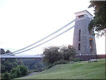 ST5673 : Clifton Suspension Bridge Tower by Tom Jolliffe