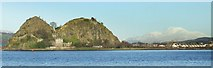 NS4074 : Dumbarton Rock and Ben Lomond by Thomas Nugent