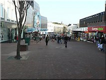 SZ0891 : Bournemouth: Commercial Road, looking east by Chris Downer