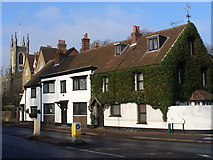 TQ1469 : Cottages on Thames Street by Colin Smith