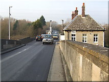 SP4408 : Toll station and house on Swinford Bridge by Jonathan Billinger