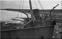 L9901 : From the bridge of the wrecked M.V. Plassey, Inisheer, Aran Islands [4] by Harold Strong