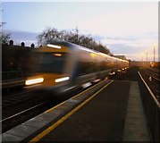J3271 : Train arriving at Adelaide station by Rossographer