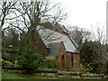 SJ2285 : Church of the Resurrection, Caldy. by David Quinn