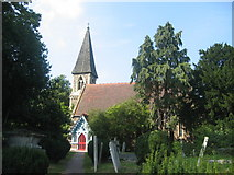 TQ2792 : St James Church, Friern Barnet by John Attfield