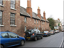 SO5923 : Webbe Almshouses, Copse Cross Street by Pauline E