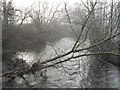 SO3974 : River Clun by Richard Webb