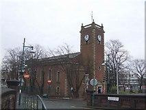 SJ9400 : St Thomas's Church, Xmas Day 2007 by John M