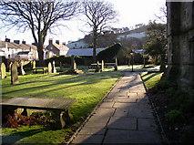 SD7336 : Whalley Parish Church by Kevin Rushton