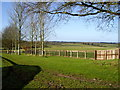 SU8181 : View from footpath towards Honey Lane by Rob Motha