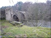 SK3057 : Cromford Bridge and River Derwent by Alan Heardman