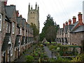 ST5445 : Llewellyn's Alms Houses, Wells by Danny P Robinson