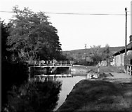 SE1839 : Esholt Swing Bridge No 211B, Leeds and Liverpool Canal by Dr Neil Clifton