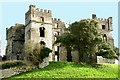 C2502 : The Bishop's Palace in Raphoe by Robert Graham