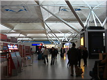 TL5523 : Stansted Airport, inside the terminal building by Oxyman