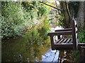 SZ1592 : Christchurch Ducking Stool - Mill Stream by Gillian Thomas