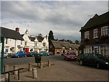 SK4003 : Market Bosworth Market Place by Colin Park