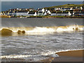 NH9184 : Stormy Sea, Balnabruach by sylvia duckworth