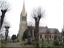 TQ4094 : Buckhurst Hill: Church of St John the Baptist by Nigel Cox