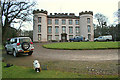 NJ7546 : Hatton Castle on the morning of a shoot by Des Colhoun