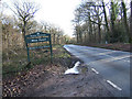 SO7379 : Wyre Forest sign on B4194 road to Bewdley by P L Chadwick