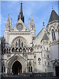 TQ3181 : The Royal Courts of Justice by Colin Smith