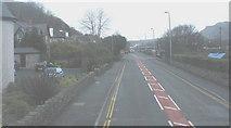 SH5638 : The A 497 at Penamser Road, Porthmadog by Eric Jones