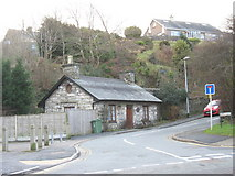 SH5638 : Cottage at the junction of Morfa Lodge and Penamser Road by Eric Jones