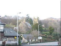 SH5638 : St John's CinW Church, Penamser Road by Eric Jones