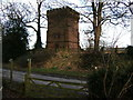 SJ4461 : Water Tower in Saighton, near Chester by BrianPritchard