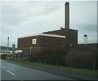 HU4642 : Power station, Lerwick. by Robert Sandison