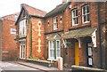 SJ4847 : Houses, Church Street, Malpas by Humphrey Bolton