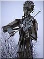 H3398 : The fiddler, Strabane by Kenneth  Allen